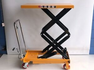 Details about Hydraulic lifting table, lifting bench, mobile lift table,  300 kg (LT300DS)
