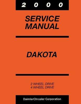 2000 Dodge Dakota Truck Shop Service Repair Manual