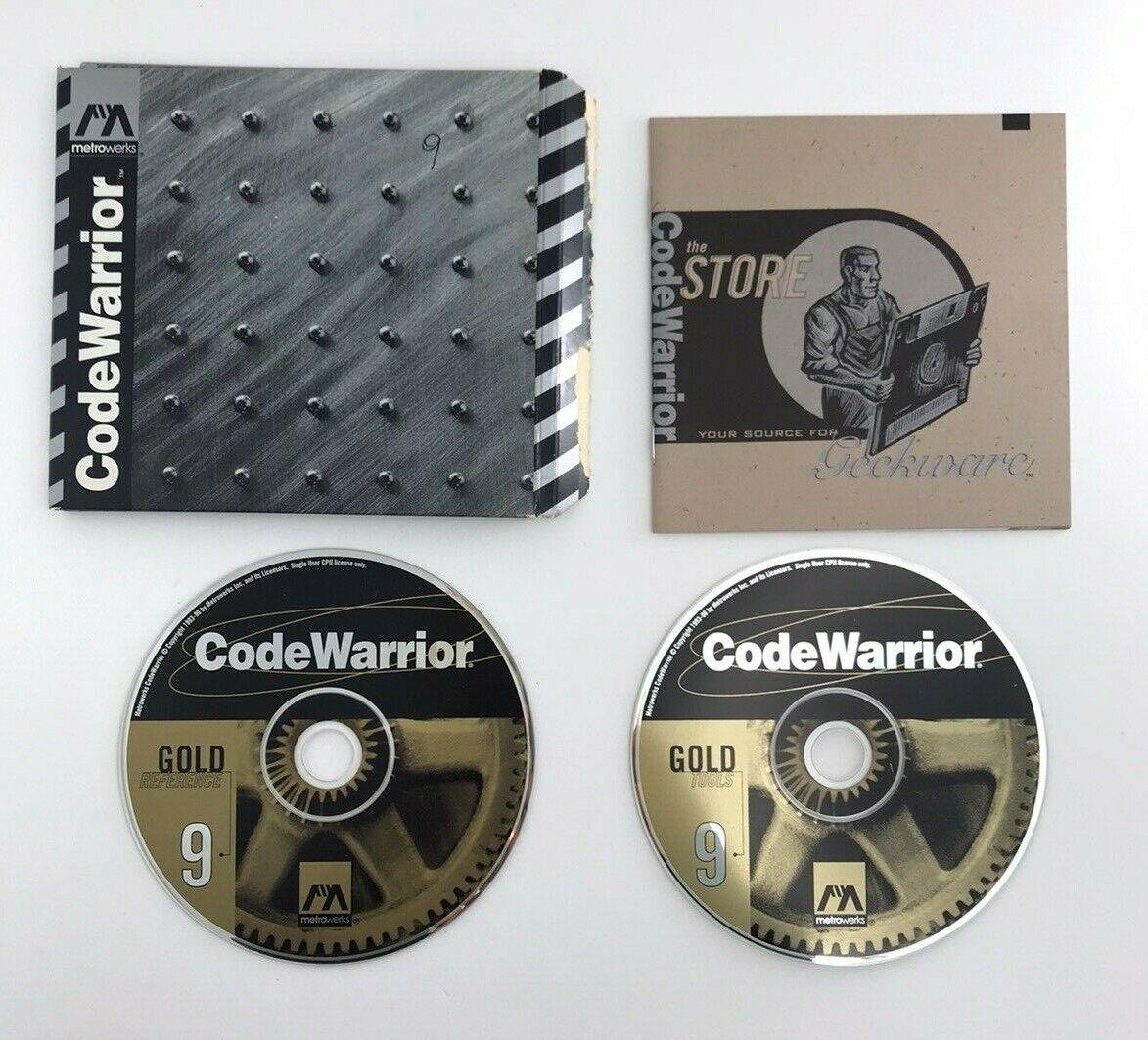 Image 1 - CodeWarrior 9 Gold MAC CD