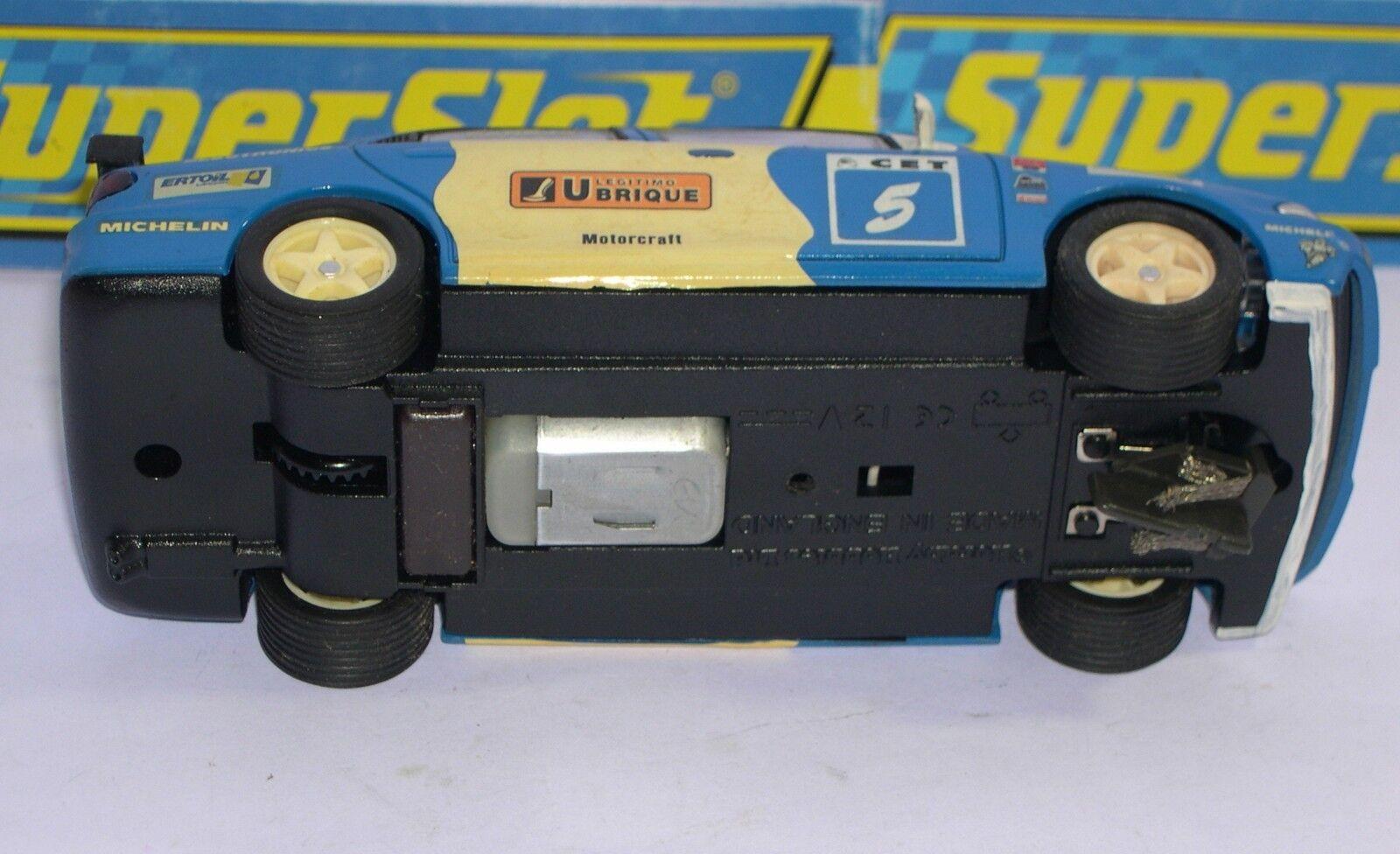 Elektrisches Spielzeug Superslot Ford Mondeo #5 Mez 1994 Jesus Paar Dekoration Handwerklich Unboxed