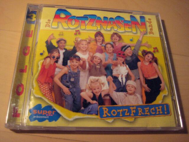 Die Rotznasen Bande - Rotzfrech - Super RTL CD 1999 BMG -  Topzustand! 14 Titel