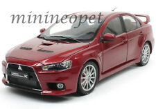 CSM 1030 2010 10 MITSUBISHI LANCER EVO EVOLUTION X 1/18 DIECAST MODEL CAR RED