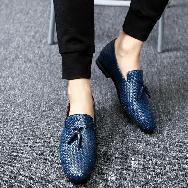 2018 Men's Italian Luxury Leather Casual Driving Moccasins