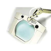 Adjustable Table Top Magnifying Lamp 1 Ea