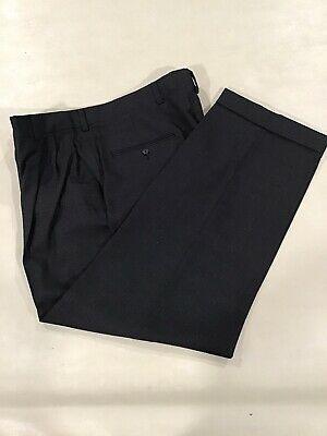 Austin Reed Mens Dress Pants 36 29 Black Ebay