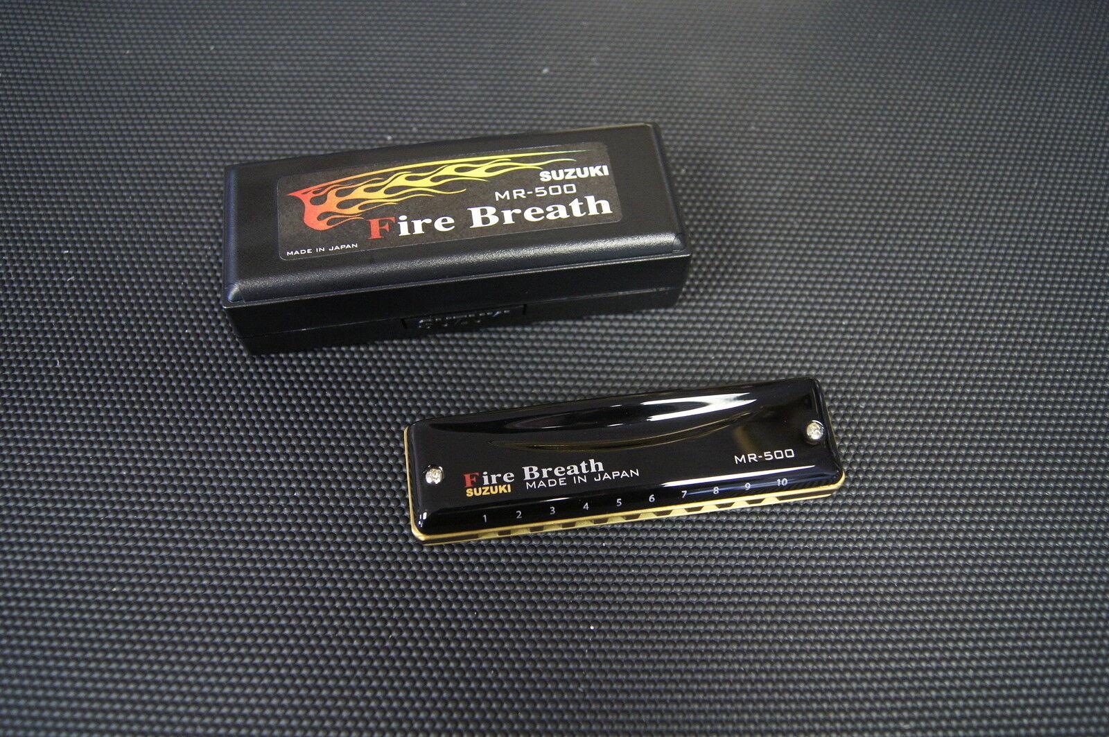Harmonica diatonique Suzuki Fire Breath MR-500 Firebreath neuf