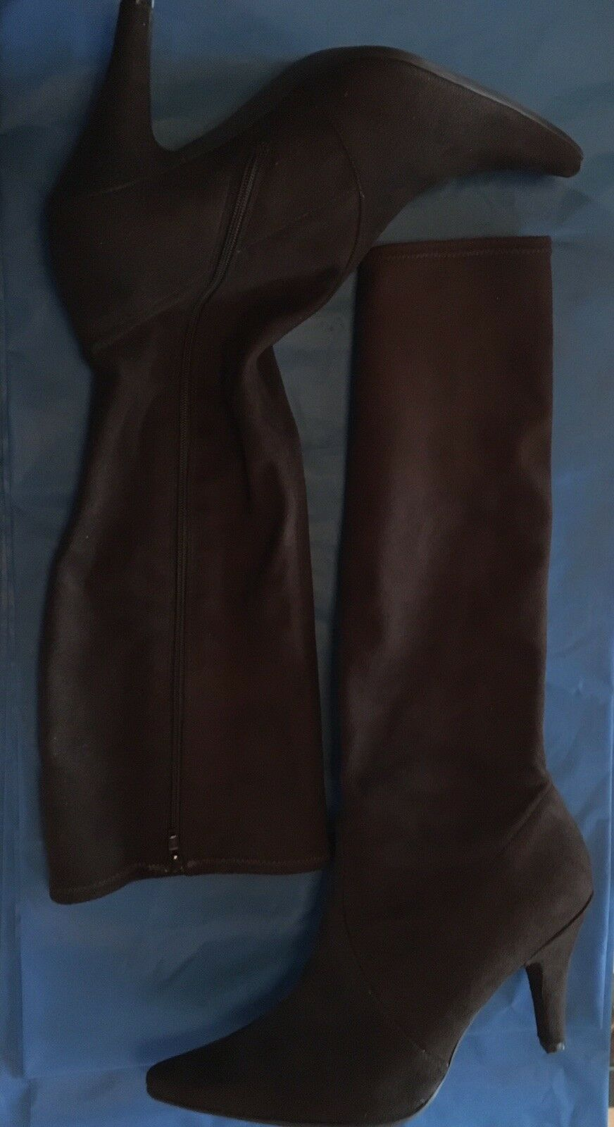 Kenneth Cole REACTION Beautiful Brown Suede Boots, Size 9 US  40EU Never Worn