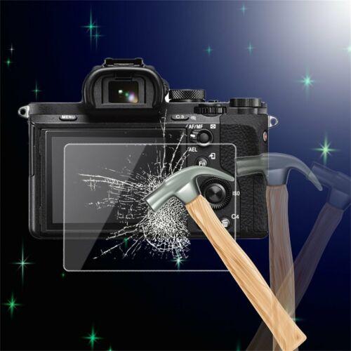 Cámara De Vidrio Templado Protector de pantalla LCD cubierta para Sony A7//A7R//A7S SG