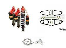 Alba Adjustable A-Arms Elka Stage 3 Front Rear Shocks Suspension Kit TRX 400EX