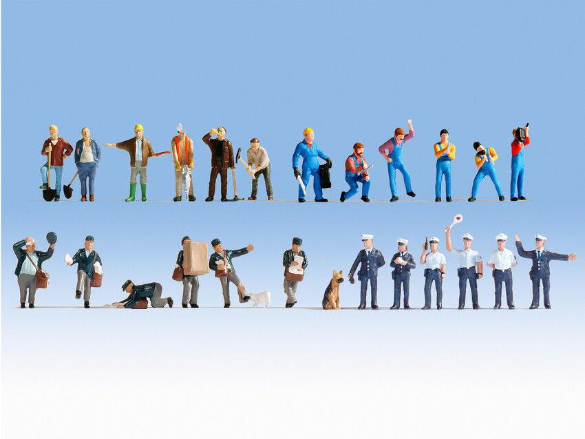 Noch 16109 H0 Figuren XL Set Bei der Arbeit
