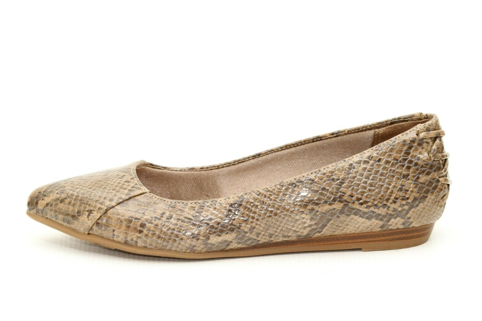 vie chaussures stride  s faux reptile ballerines chaussures vie taille 6 769242