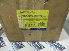 Square D 9070tf750d1 750 Kva 240480 X 115v Control Transformer New T1890