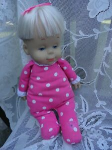 DROWSY DOLL Mattel Classic Collection Sweet Little Talking Doll 1984