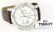 Tissot T0684271601100 T-Classic Carson Chronograph Automatic Men's Leather Watch