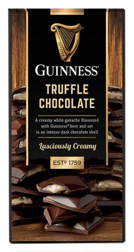 90G Guinness Dark Chocolate Truffle Bar
