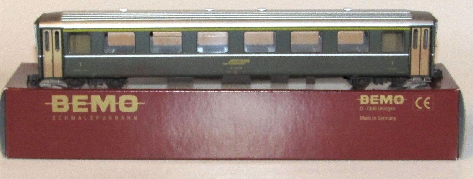 BEMO RHB entitEspecificata-Vagoni 1. KL. a 1226 verde, h0m, art.3252 215, OVP