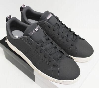 NIB ADIDAS Women's VS Advantage Clean Gray Pink Low Top Tennis Shoes  Sneakers | eBay