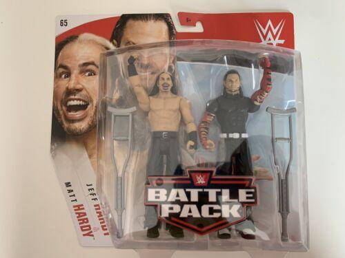 WWE Mattel BATTLE PACK SERIE 65 gli Hardy Boyz Matt /& Jeff Action Figure
