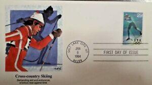 U) 1994, USA, CROSS COUNTRY SKIING, FDC