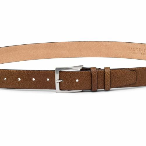 Beige Mens Belts Tan Leather Belt Cow cowhide LIMITED EDITION by Capo Pelle