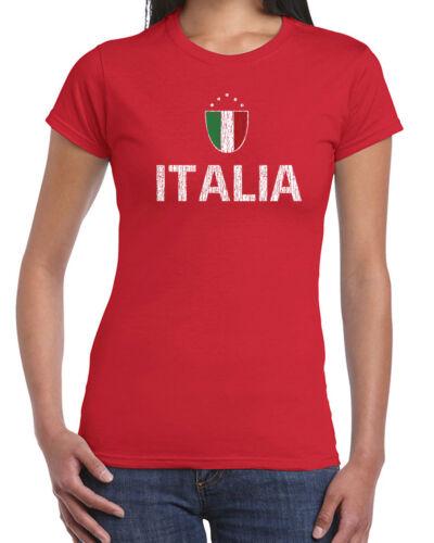 437 Italia Womens T-shirt italy italian pride country rome tuscany futbol ruby