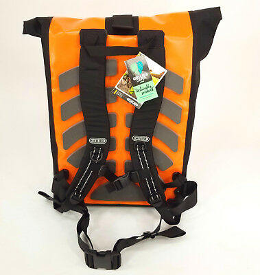 Orange Ortlieb Classic Bike Messenger Bag Kuriertasche Waterproof