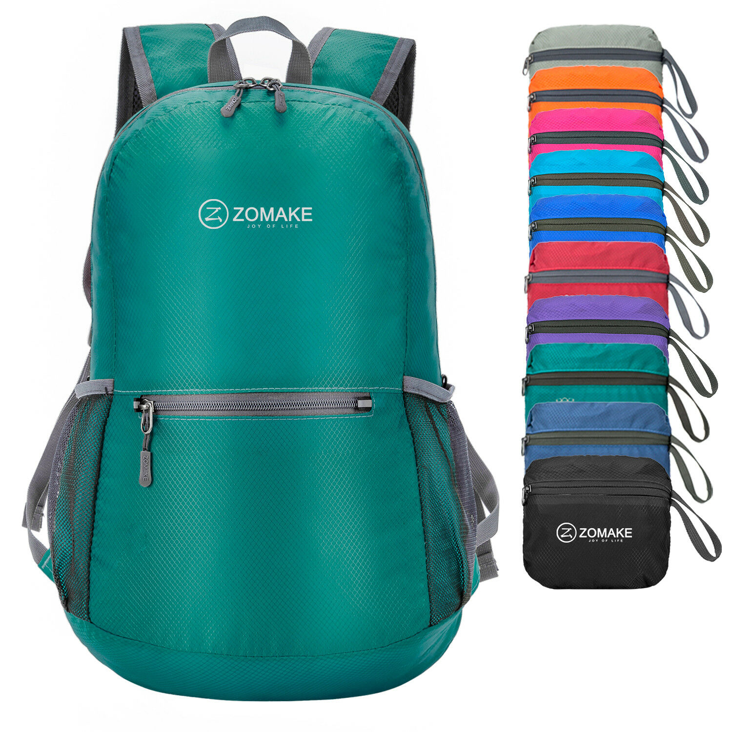fd35bbec5eed ZOMAKE Ultra Lightweight Packable Backpack Water Resistant Hiking ...