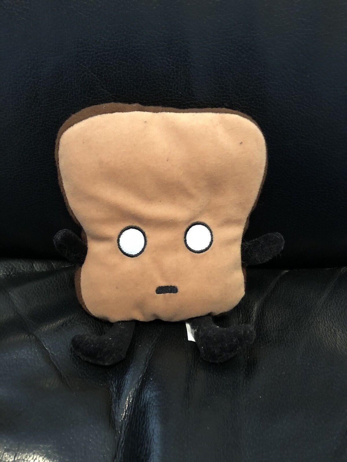 Mister Toast Plush Stuffed Animal Bread Cute Square Load Kids