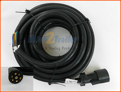 [SCHEMATICS_48YU]  7 Way molded 24' Trailer Wire Harness w/plug Heavy Duty RV Camper Cord  Trailer | eBay | Camper Wire Harness |  | eBay