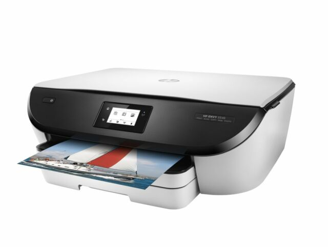 01 HP Envy 5546 All in One WIRELESS PRINTER SCANNER COPIER + USB and Power leads