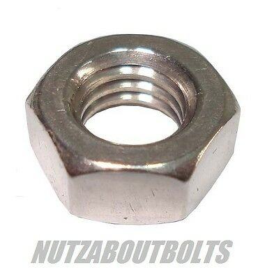 m3/4/5/6/8mm Hexagon full nuts a2 stainless steel  choose your size/qty
