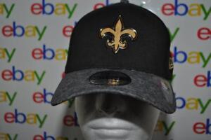 7035669c1 New Orleans Saints New Era NFL16 3930 Basecap Hat Cap Strechfit Size ...