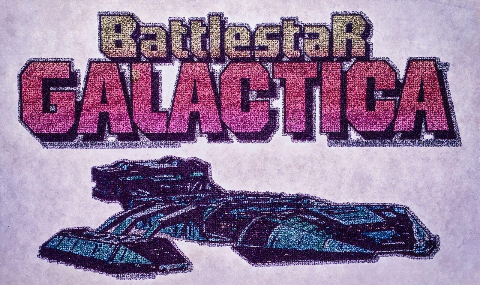 Battlestar Galactica prismatic belt buckle mint NOS