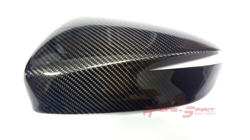 MAZDA CX-5 SUV SKYACTIV JDM REAL 3D GLOSS CARBON FIBER SIDE MIRROR COVER CAP 16
