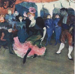 2b88447bc4f ... TOULOUSE-LAUTREC-Chilperic-Danseuse-de-variete-LITHOGRAPHIE-1927