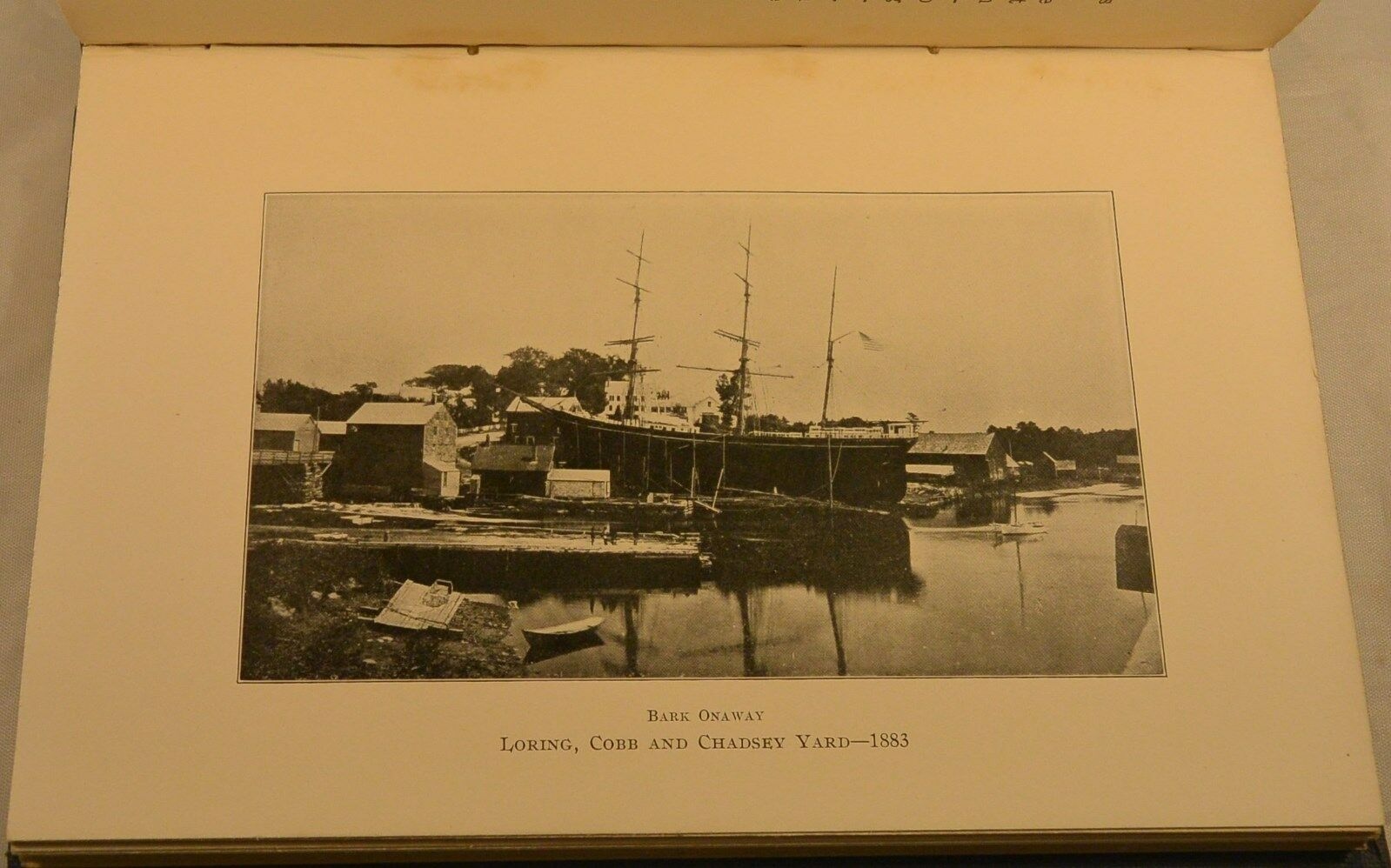 Shipbuilding Days & Tales of Sea Old North Yarmouth Maine ...