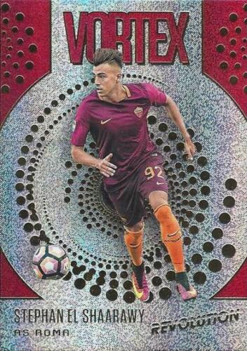 25 Dif 2017 Panini Revolution Soccer /'Vortex/' Chase//Insert cards Retail Only