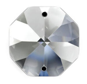 Set of 1188 - 16mm Clear Asfour Crystal 1080 Octagon Chandelier ...