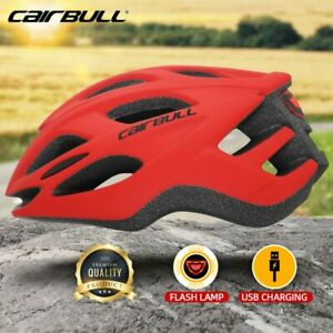 Cairbull Bicycle Helmet Safe Cycling MTB Adult Mountain Road Bike LED Tail Light