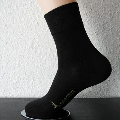 3 Paar Damen Socken ohne Gummi Softrand Bambus Viskose Bambussocken schwarz
