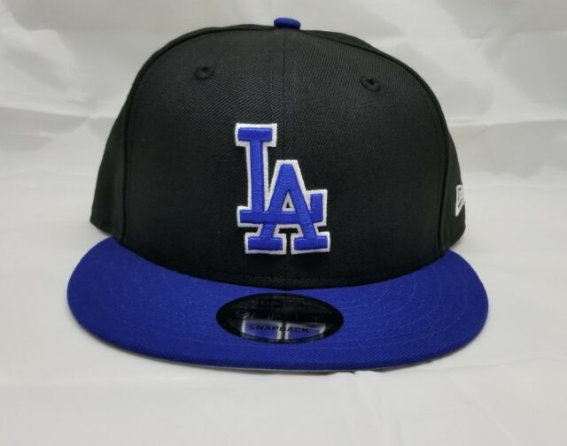 online store 05d82 7d505 NEW ERA 9FIFTY SNAPBACK HAT. MLB. LOS ANGELES DODGERS. BLACK AND BLUE. for  sale online
