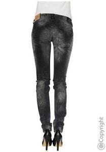 Nouveau Gila L32 Femme W27 W25 Slim Black Stretch Jeans Superbe Fit Noir Pantalon aUvdqwY0YF