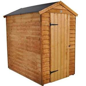 6x4 garden shed easy fit roof single door - Garden Sheds 6ft By 4ft