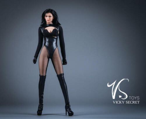 """1//6 Leather Lingeries Cloak Boots Set For 12/"""" PHICEN TBLeague Hot Toys Figure"""