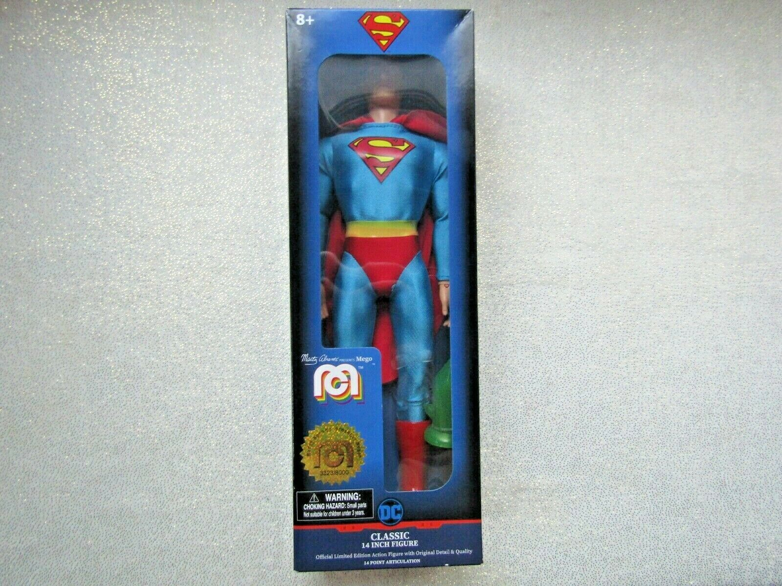 """FREE SHIPPING 6 to choose from Mego Classic 14/"""" Collectible Figures"""