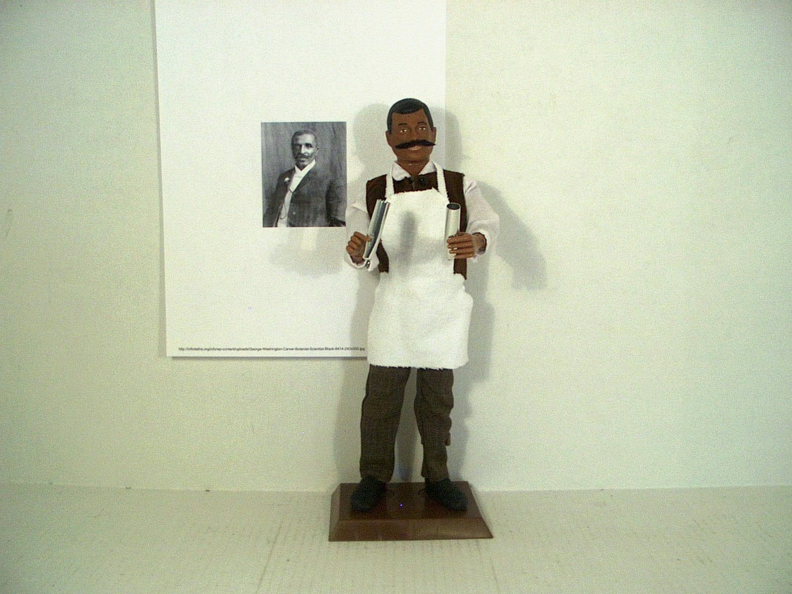 George Washington Carver botanist inventor peanut scientist 1 6 custom figure