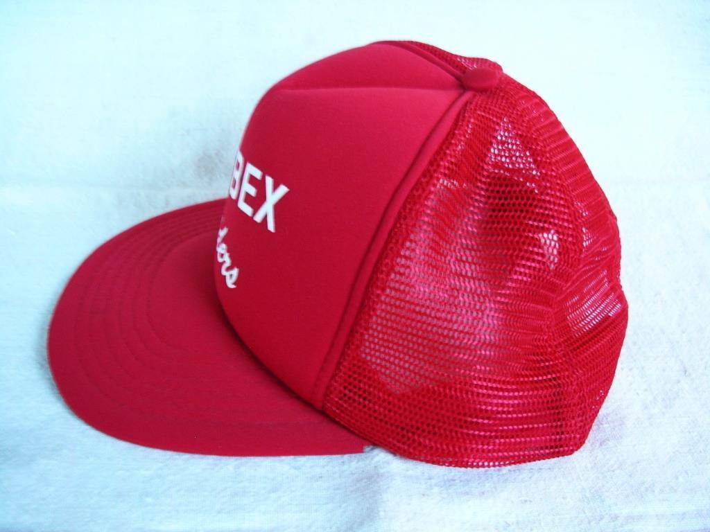 ORIGINAL ADJUSTABLE RAYBEX RAIDERS RED FABRIC/MESH CAP/HAT/LID ADJUSTABLE ORIGINAL 1b1175