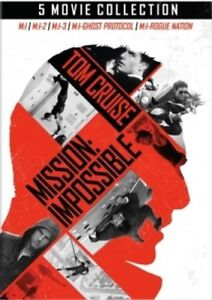 Mission-Impossible-5-Movie-Collection-New-DVD-Boxed-Set-Dolby-Dubbed-Rep