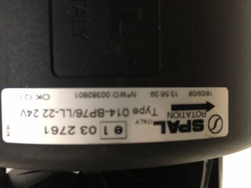 New spal 24V Blower assembly 014-BP76//LL-22 275-6706
