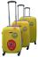 Valigie Media Trolley Grande Rigida 4 Ruote ORMI 2066 Piccola Set 3 pezzi